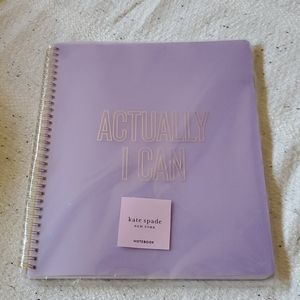 Kate Spade Purple Notebook